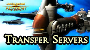 swtor bounty hunter guide how to transfer servers in swtor