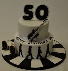 beatles cake toppers 2 tier beatles cake birthday cakes celebration cakes