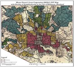 Map Of Baltimore Md Baltimore Shows How Historic Segregation Shapes Biased Policing