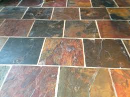 Faux Slate Floor Tiles The Fabulous Food Fairy U0027s Diy Kitchen Cabinet Transformation On A