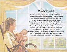 baby boy poems buy personalized poem for and baby boy my baby boy and me