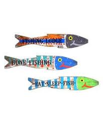aqua painted reclaimed wood fish wall fish wall and