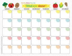 best 25 menu calendar ideas on pinterest meal planner template