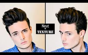 mens hairstyle hair tutorial huge volume quiff neat vs