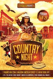 template flyer country free western country flyer template download xtremeflyers