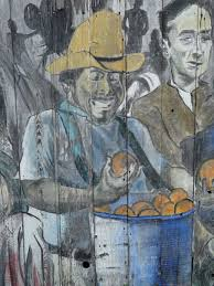 mission district s murals tell many stories life in the bay mural mission district mexican farmer san francisco