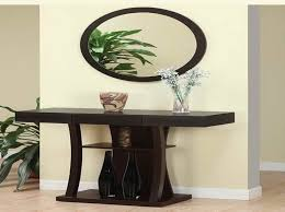 Entry Console Table With Mirror Entry Console Table With Mirror For Modern Concept