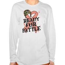 endometrial cancer ready for battle t shirt this site is will