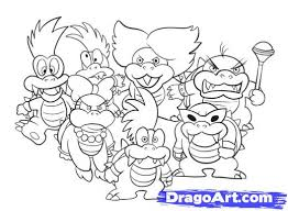 hd wallpapers koopalings coloring pages zsa earecom press