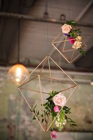 diy industrial geometric inspired wedding wedding blog bespoke