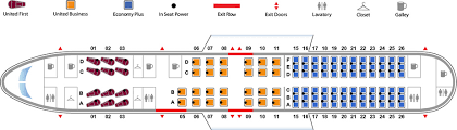 757 seat map boeing 757 200 ps aircraft the united airlines fleet website