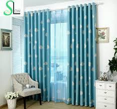 Curtain Cartoon by Slow Soul Curtain Clouds Fresh Shading Cloth Room Children