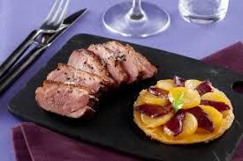 cuisiner le magret recette de magret de canard rôti et sa tatin de pommes de terre au