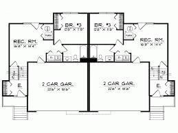 eplans split level house plan 2 story duplex 3152 square feet