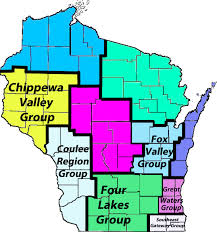 Green Lake Wisconsin Map by Local Groups Sierra Club