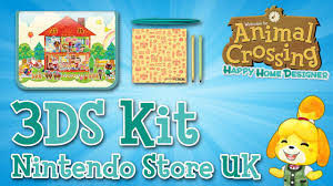 nintendo uk store free 3ds kit unboxing animal crossing happy