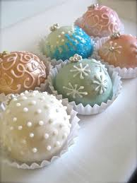 pretty pastel cake ornament balls pictures photos and