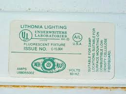 Lithonia Light Fixture Lithonia Lighting C 15804 A 21237 48 One And Two Light