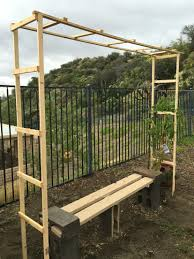 trellis for my grape vine simple diy under 10 garden projects