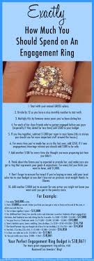 how much to spend on engagement rings exactly how much to spend on an engagement ring