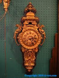 louis xvi wall clock gilded ormolu french 19th century ormolu