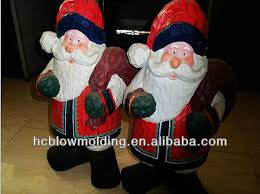 plastic blow mold christmas decoartion halloween decoration