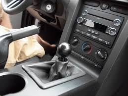 modern billet mustang retro style 5 speed shift knob black 41065