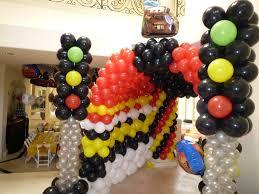 dreamark events blog disney cars theme decor with cars balloon