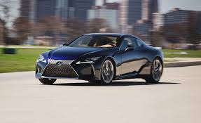 lexus lc f sport 2018 lexus lc500 test review car and driver