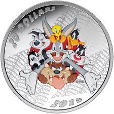 looney tunes 20 fine silver coin looney tunes merrie melodies