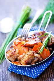 cuisiner un jarret de veau recette jarret de veau aux jeunes carottes