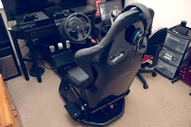 driving simulator gaming throne album on imgur