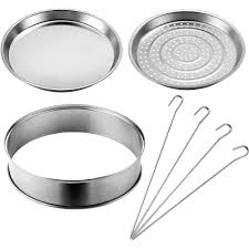vonshef halogen oven accessories extender ring steamer tray