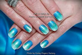 gelish ombre nails funky fingers factory