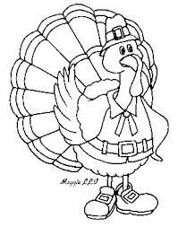 thanksgiving turkey clipart black and white 101 clip