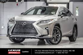 lexus rx 350 used for sale toronto used 2017 lexus rx 350 f sport iii awd gps toit audio for sale in
