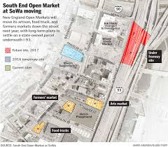 North End Boston Map by An Ugly Divorce For South End Markets And Landlords The Boston Globe