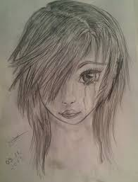 emo crying by jyuubi chan on deviantart