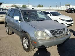 rx300 lexus salvage lexus rx300 for sale at copart auto auction autobidmaster