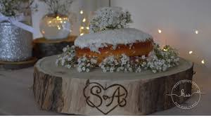 rustic cake stand how to make a personalised rustic cake stand