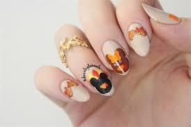 mickey minnie thanksgiving nails nail gallery