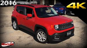 mojave jeep renegade 2016 jeep renegade latitude ultimate in depth look in 4k youtube