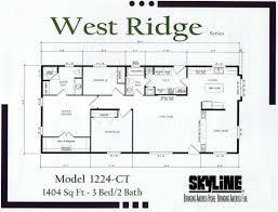 west ridge floor plans