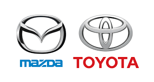mazda mx5 logo mazda and toyota join on electric cars us plant