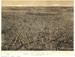 Map Of Newark Nj New Jersey