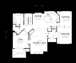 2 Story Apartment Floor Plans Mascord House Plan 2263dc The Fairmont
