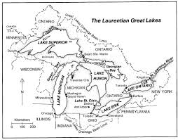 The Great Lakes Map Map Of The Laurentian Great Lakes Map Of The Laurentian Gr U2026 Flickr
