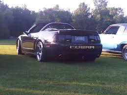 2003 Mustang Cobra Black 2003 Ford Svt Cobra Convertible 25900 Canadian Mustang Owners