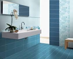 calming blue bathroom
