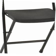 Cosco Folding Chair Cosco Resin 4 Pack Folding Chair With Molded Seat And Back Black